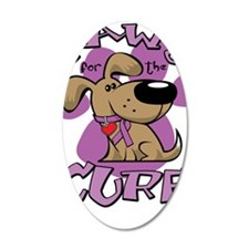 Paws-for-the-Cure-Crohns-Dis Wall Decal