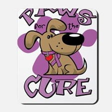 Paws-for-the-Cure-Crohns-Disease-blk Mousepad