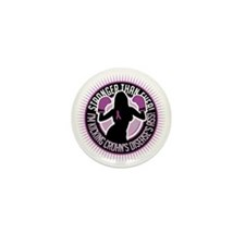 Crohns-Disease-Boxing-Girl Mini Button