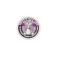 Crohns-Disease-Cat-Fighter Mini Button