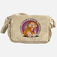 Crohns-Disease-Cat Messenger Bag