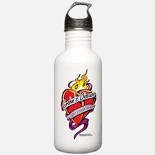 Crohns-Disease-Tattoo- Water Bottle