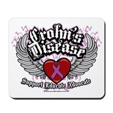 Crohns-Disease-Wings Mousepad