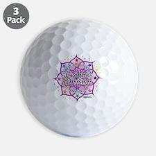 Crohns-Disease-Lotus Golf Ball