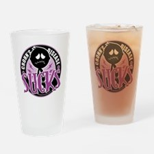 Crohns-Disease-Sucks Drinking Glass