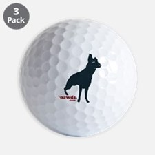 Rear Leg Tripawds Three Legged GSD Golf Ball