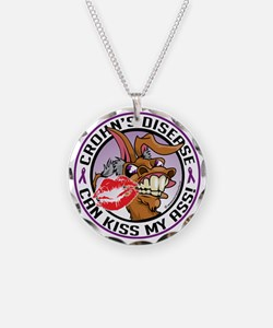Crohns-Disease-Kiss-My-Ass Necklace