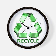 Recycle Logo Wall Clock