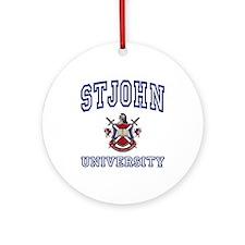 STJOHN University Ornament (Round)