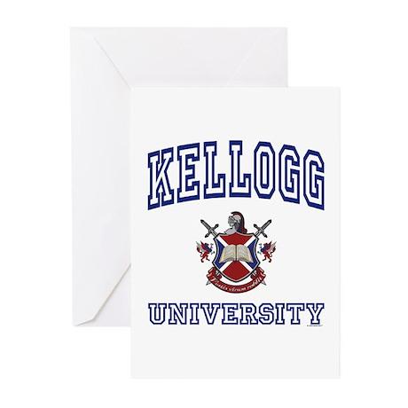 KELLOGG University Greeting Cards (Pk of 10)