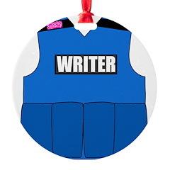 writerbutton Ornament