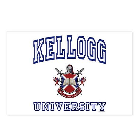 KELLOGG University Postcards (Package of 8)
