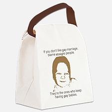 GayMarriage Canvas Lunch Bag