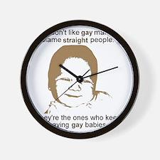 GayMarriage Wall Clock