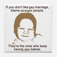 GayMarriage Tile Coaster