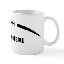 Football-Outline-Fantasy-Football Mug
