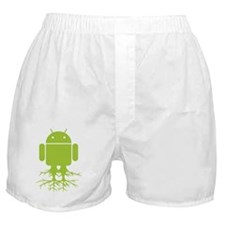 Large Rooted Android Boxer Shorts