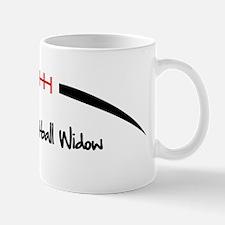 Football-Outline-Fantasy-Football-Widow Mug