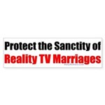 Protect the Sanctity of Reality TV Marriages