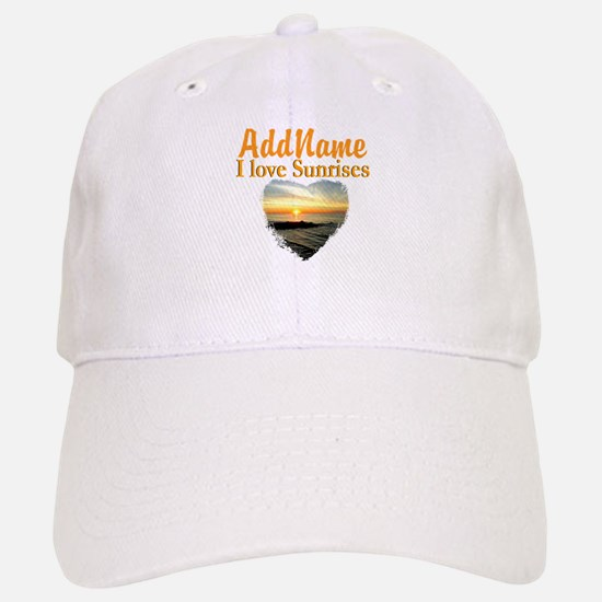 LOVE SUNRISES Baseball Baseball Cap