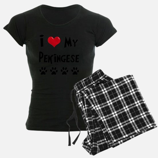 I-Love-My-Pekingese Pajamas