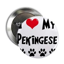 "I-Love-My-Pekingese 2.25"" Button"