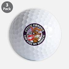 Cystic-Fibrosis-Kiss-My-Ass Golf Ball