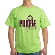 Cystic-Fibrosis-Purple-for-DAUGHTER- T-Shirt