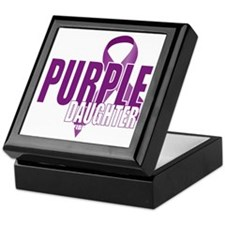 Cystic-Fibrosis-Purple-for-DAUGHTER-b Keepsake Box