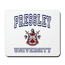 PRESSLEY University Mousepad