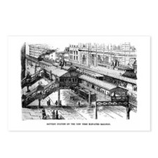 ny battery stn Postcards (Package of 8)