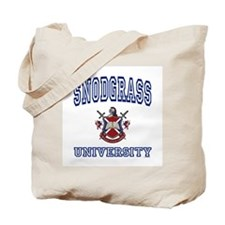 SNODGRASS University Tote Bag