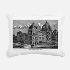 ny grand centrak Rectangular Canvas Pillow