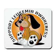 Leukemia-Dog Mousepad