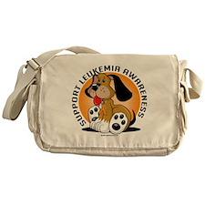 Leukemia-Dog Messenger Bag