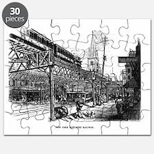 ny el train Puzzle