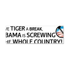 antiobama Car Magnet 10 x 3