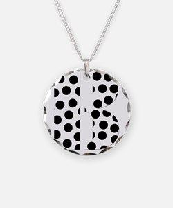 b Necklace Circle Charm