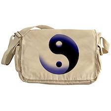 2-BLUE YIN Messenger Bag