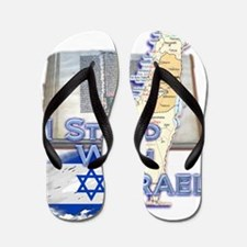 Israel I STAND WITH Flip Flops
