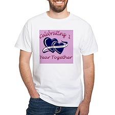 celebrating heart 1pink Shirt