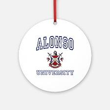 ALONSO University Ornament (Round)
