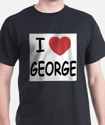 I heart george T-Shirt
