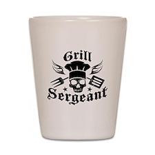 GrillSergent Shot Glass