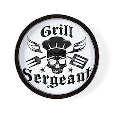 GrillSergent Wall Clock