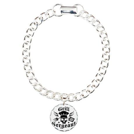 GrillSergent Charm Bracelet, One Charm