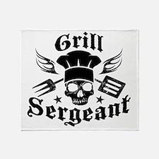 GrillSergent Throw Blanket