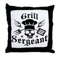GrillSergent Throw Pillow
