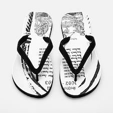 salem-w Flip Flops