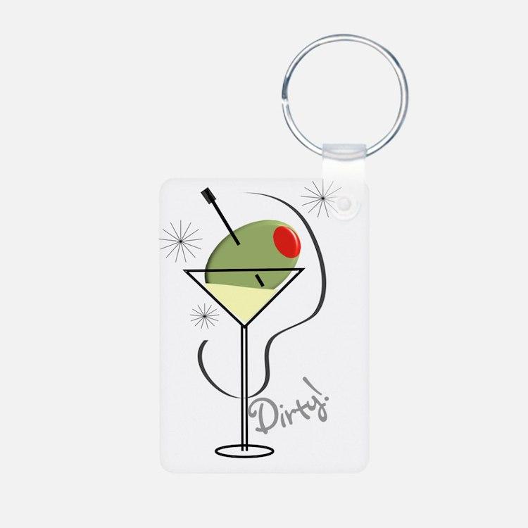 Dirty Martini Keychains